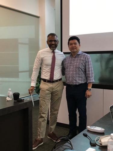 Biological Training at Cyberjaya on 20.2.2019