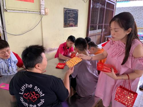 CNY 2019 Charity for disabled kids from Persatuan Penjagaan Kanak-Kanak Cacat Klang Selamgor-7.2 (6)