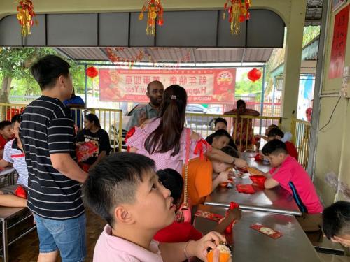 CNY 2019 Charity for disabled kids from Persatuan Penjagaan Kanak-Kanak Cacat Klang Selangor-7.2.2019