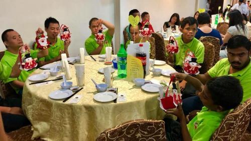 Charity Christmas Dinner with Persatuan Penjagaan Kanak-Kanak Cacat Klang Selangor on 1.12 (2)