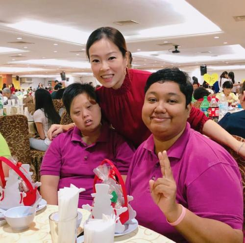 Charity Christmas Dinner with Persatuan Penjagaan Kanak-Kanak Cacat Klang Selangor on 1.12 (4)