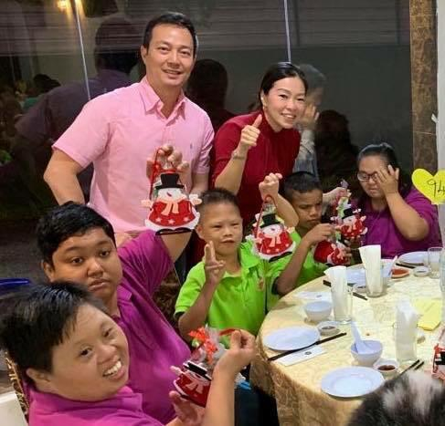 Charity Christmas Dinner with Persatuan Penjagaan Kanak-Kanak Cacat Klang Selangor on 1.12 (5)