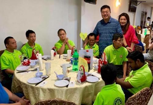 Charity Christmas Dinner with Persatuan Penjagaan Kanak-Kanak Cacat Klang Selangor on 1.12 (6)
