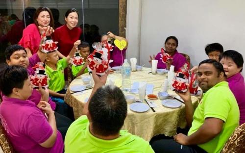Charity Christmas Dinner with Persatuan Penjagaan Kanak-Kanak Cacat Klang Selangor on 1.12 (8)