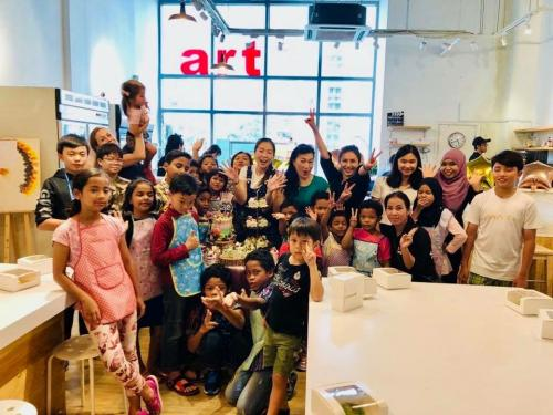 Charity Cookies Baking at The Buttercake Factory with Orang Asli Kids-21.10 (13)