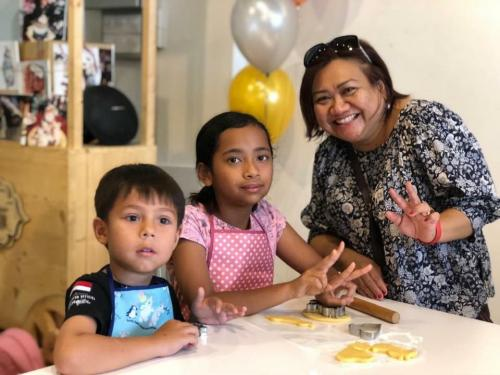 Charity Cookies Baking at The Buttercake Factory with Orang Asli Kids-21.10 (22)