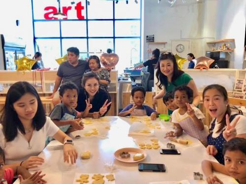 Charity Cookies Baking at The Buttercake Factory with Orang Asli Kids-21.10 (4)