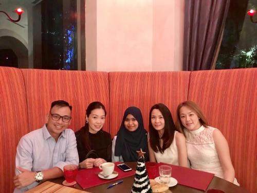 Medicas 2018 X'Mas Thanksgiving @ Annual Dinner with working team (1)