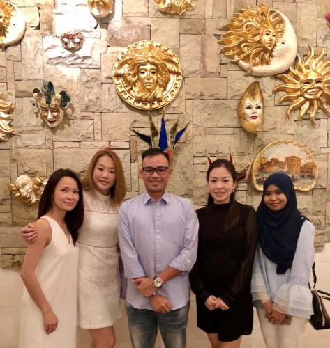 Medicas 2018 X'Mas Thanksgiving and Annual Dinner with working team-26/12/2018