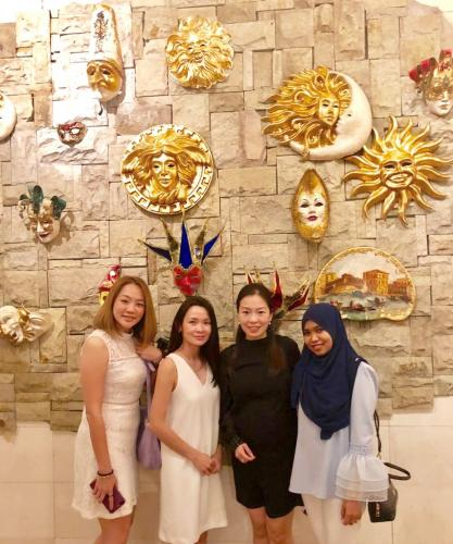 Medicas 2018 X'Mas Thanksgiving @ Annual Dinner with working team (2)