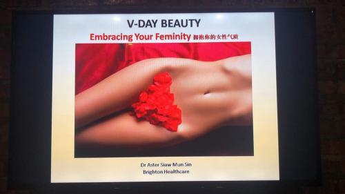 V-Day talk @ Giggles and Geeks, Cyberjaya