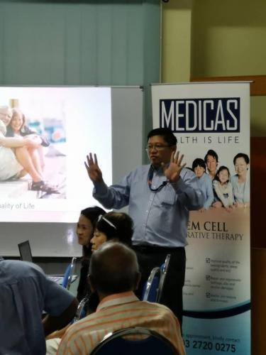 Cellular Regenerative Treatment for Osteoarthritis talk at Rotary Club of Melawati on 8.4.2019 (4)