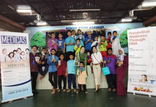 Raya 2020 Charity with children from Rumah Kasih Harmoni